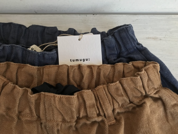 tumugu:の定番リネンパンツ(sold out)