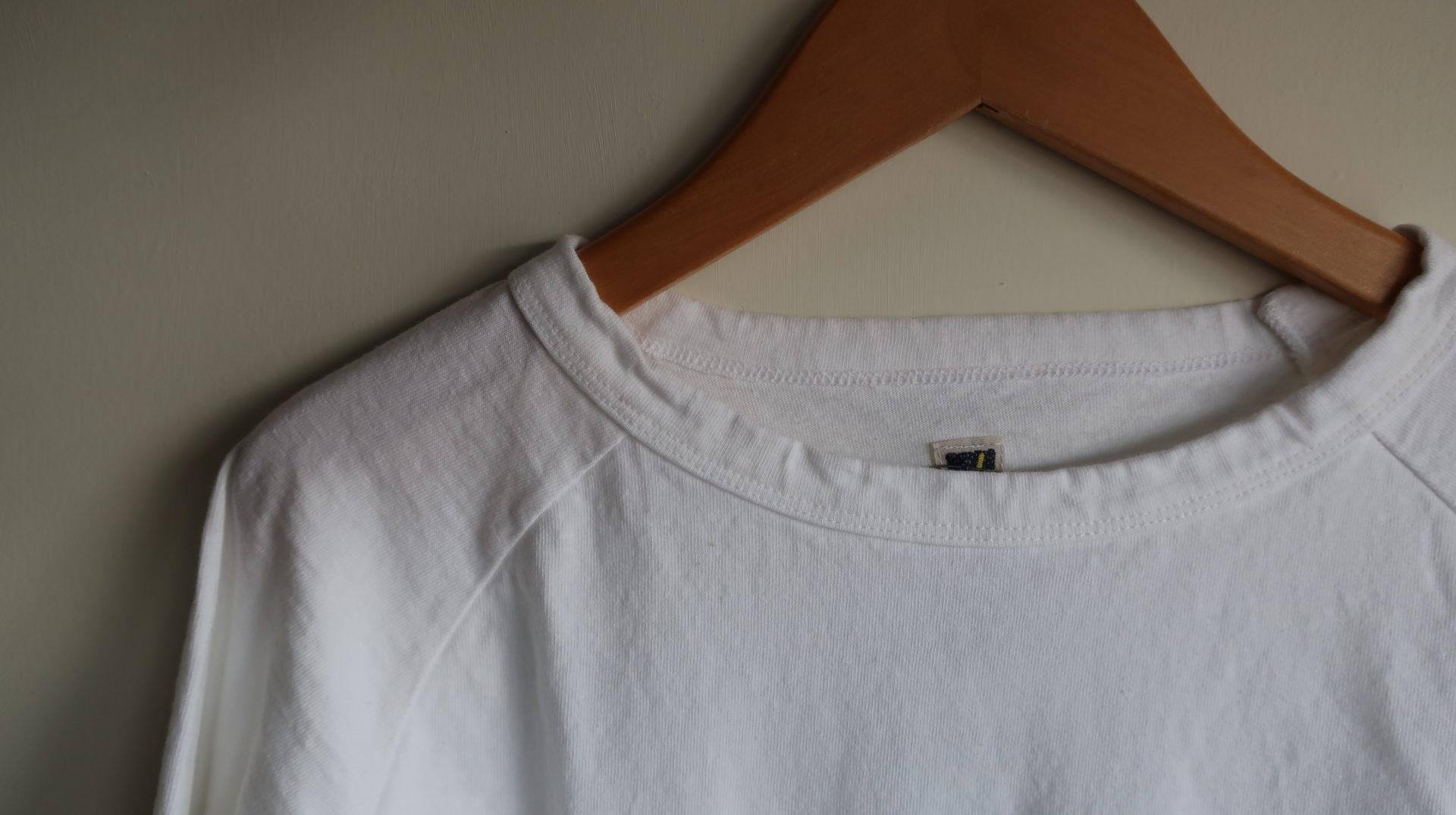 Dana Faneuil ムラ糸ラグラン長袖Tシャツ