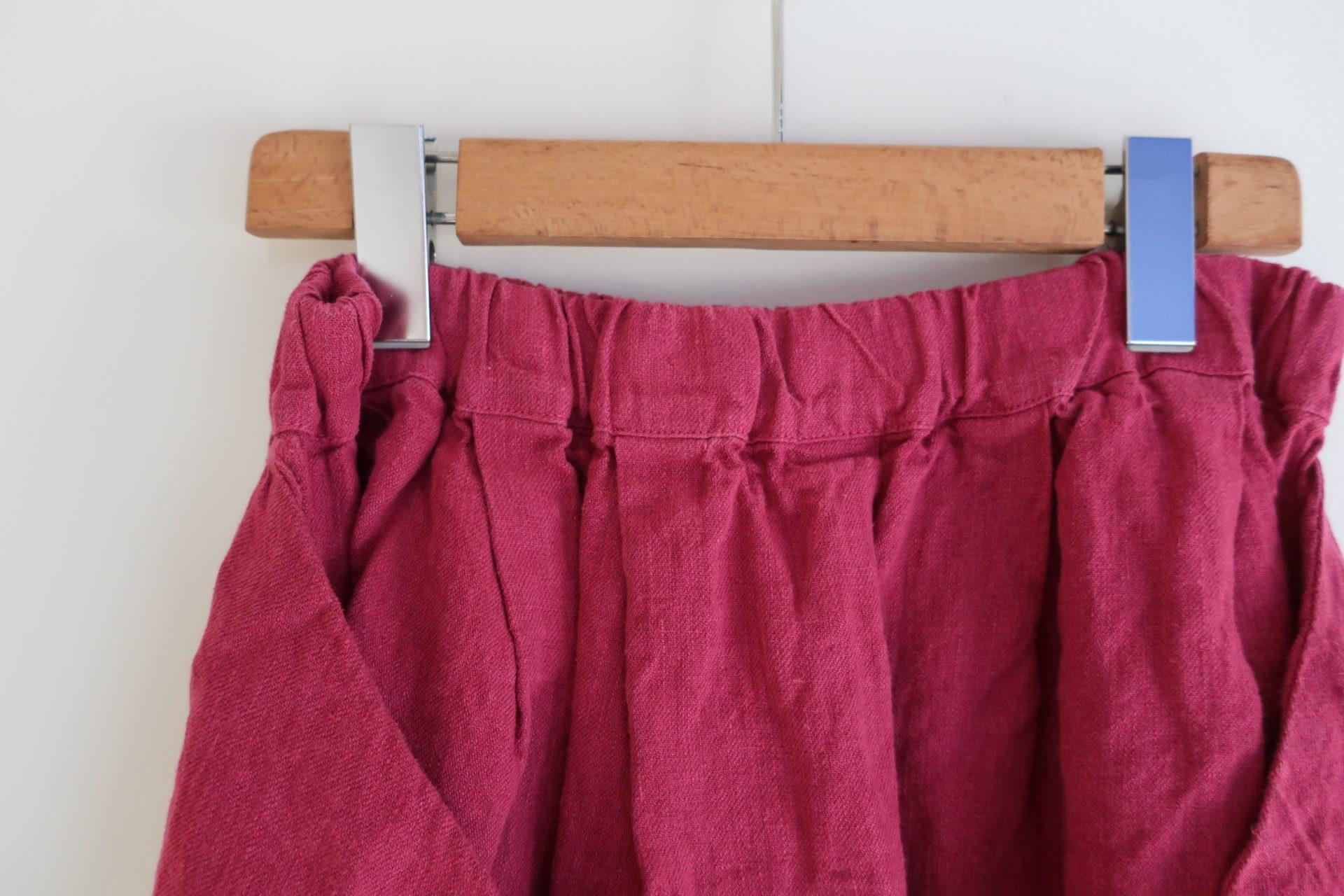 tumugu: ソリトリネンマルチwayスカート(sold out)